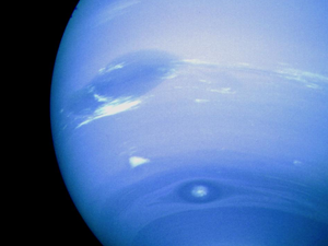 Neptune, the eighth planet from the Sun, surprisingly hosts some of the wildest weather in the Solar System. Credit: NASA/JPL.